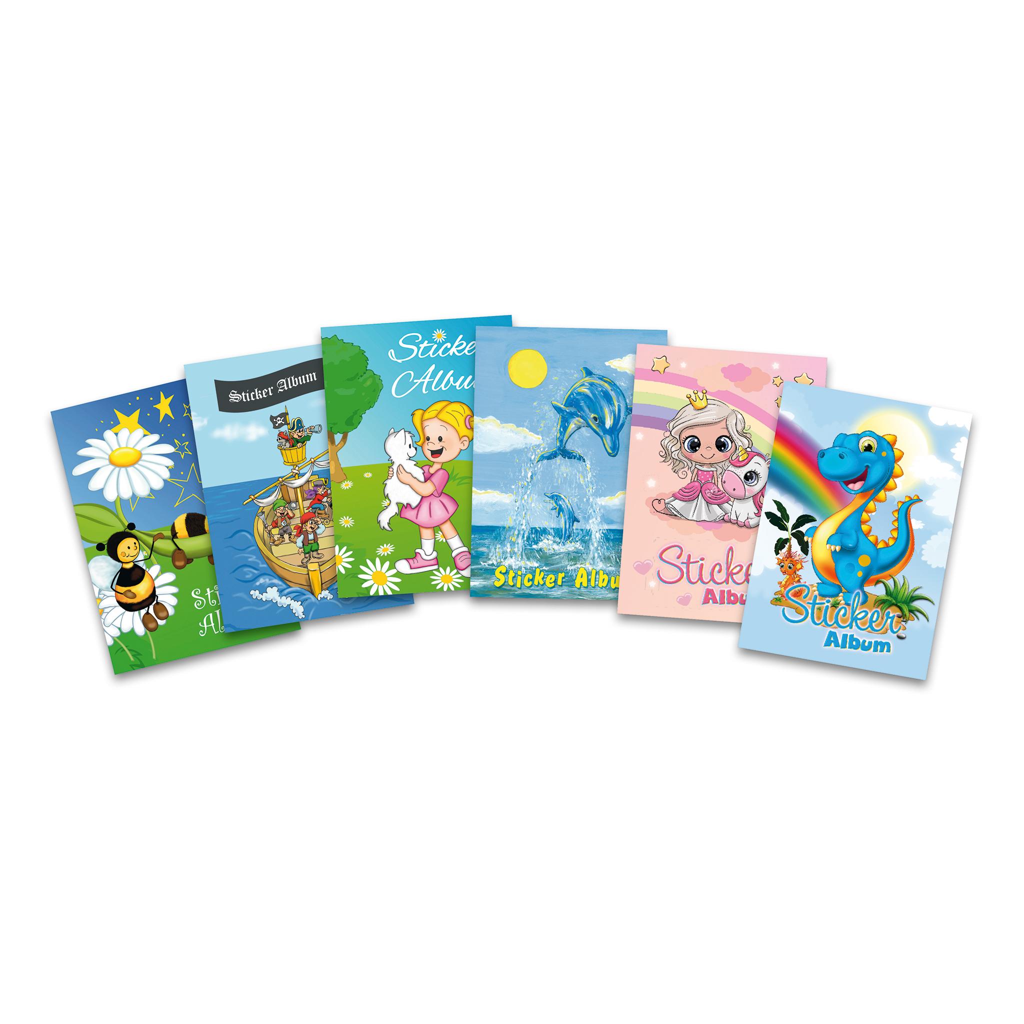 """A5 /""""Bienenwiese/"""" Herma Sticker Sammelalbum für Kids 16 Seiten, blanko"""