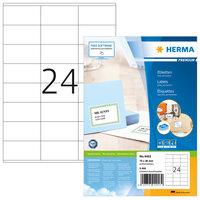 HERMA Disketten-Etiketten wei/ß 3,5 70x67,7mm Special A4 VE=200 St/ück